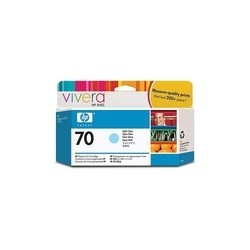 HP C9390A Ink Light Cyan 130 ml.