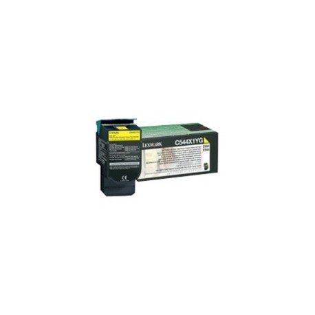 Lexmark C544X1YG Toner Yellow Extra High Yield