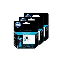 HP CZ134A Ink Cyan No.711 **3-Pack**