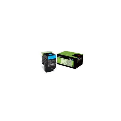 Lexmark 80C20C0 Toner Cyan