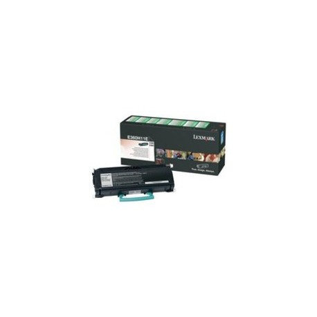 Lexmark E360H11E Toner Black - Pages 9.000