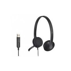 Logitech 981-000475 Headset H340 Black USB