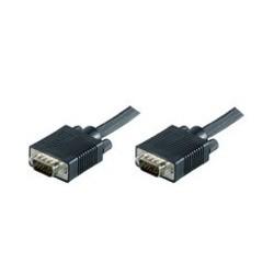 MICROCONNECT SVGA HD15 10m M-M BLACK REF. MONGG10B