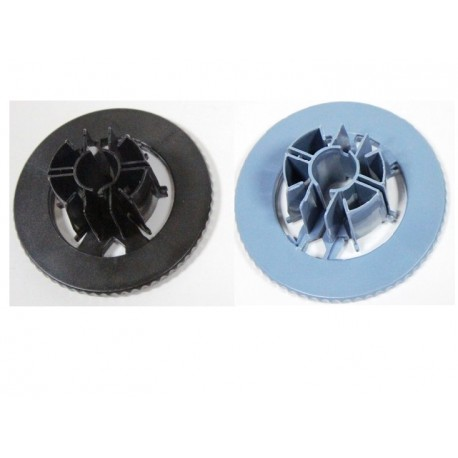 HP PAIRE SPINDLE HUBS C7769-40153 ET C7769-40169 BLACK-BLUE