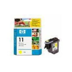 TETE D'IMPRESSION JAUNE HP N° 11 28ml REF. C4813A