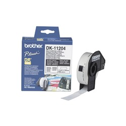 Brother DK11204 Multi Purpose Labels 17x54mm